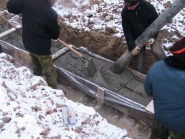 Бетонные и фундаментные работы в зимнее время года. Применение средств Неомид