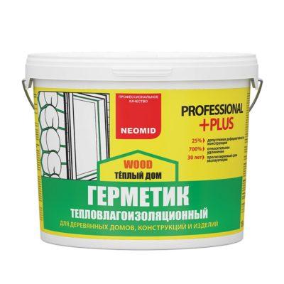 NEOMID Теплый ДОМ Professional PLU усиленный герметик для дерева