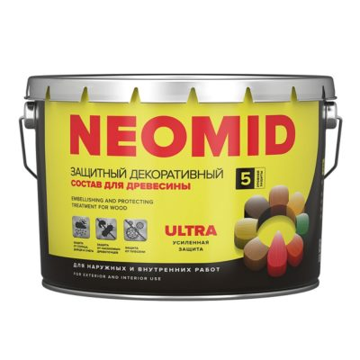 NEOMID Bio Color ULTRA пропитка для дерева декоративная