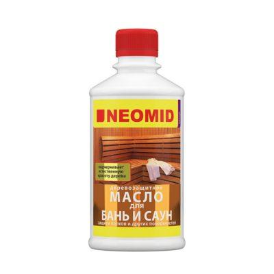 NEOMID Sauna Oil масло для бань и саун