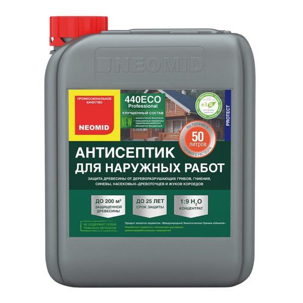 NEOMID 440 eco антисептик для дерева