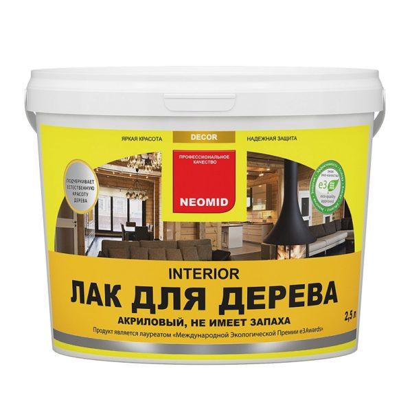 NEOMID Interior Oil масло для мебели и интерьеров