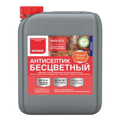 NEOMID Base eco антисептик для дерева