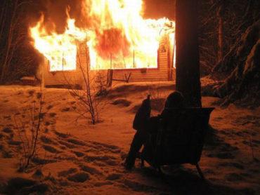 Противопожарная пропитка древесины