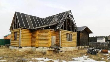 Консервация дома на зиму. Недостроенного