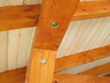 Можно ли обрабатывать огнебиозащитой древесины покрашенную декоративной краской деревянную поверхность?