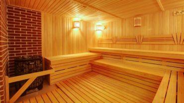 Внутренняя отделка парильного отделения бани и сауны